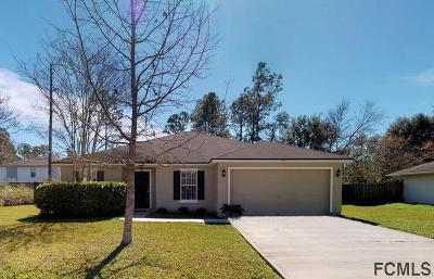 Palm Coast Single Family Home For Sale: 12 Llestone Path