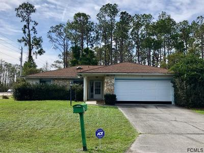 Palm Coast Single Family Home For Sale: 1 Eastwood Drive
