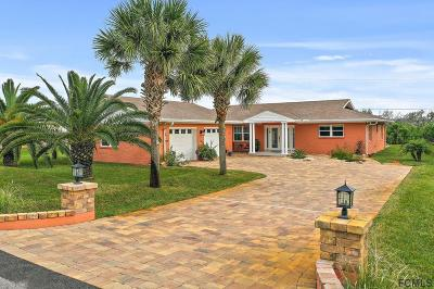 Palm Coast Single Family Home For Sale: 6 Beachside Dr