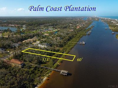 Palm Coast Plantation Residential Lots & Land For Sale: 41 Riverwalk Dr S