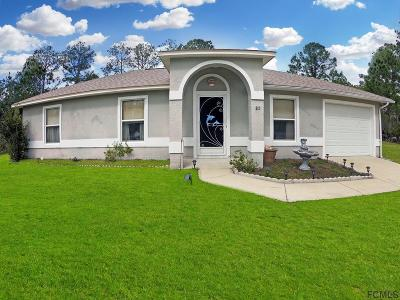 Seminole Woods Single Family Home For Sale: 22 Slipper Orchid Trail E