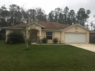 Palm Coast FL Single Family Home For Sale: $174,900