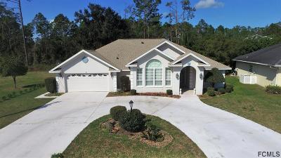 Palm Coast FL Single Family Home For Sale: $310,000