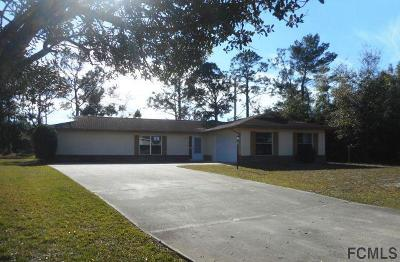 Palm Coast Single Family Home For Sale: 52 Filbert Lane