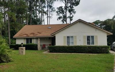 Palm Coast Single Family Home For Sale: 8 Boyd Pl