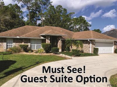 Palm Coast Single Family Home For Sale: 37 Bridgehaven Drive