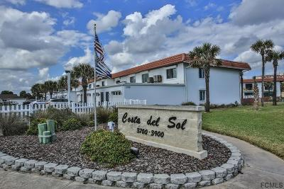 Flagler Beach Condo/Townhouse For Sale: 3900 S Ocean Shore Blvd #16