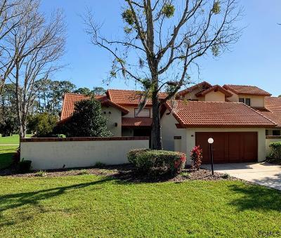 Palm Coast Condo/Townhouse For Sale: 33 Village Circle #33