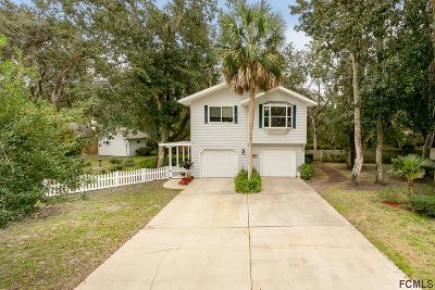 St Augustine Single Family Home For Sale: 206 Azalea Ct