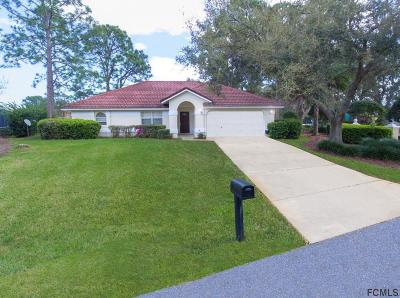 Palm Coast Single Family Home For Sale: 2 Sutton Court