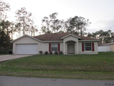 Palm Coast FL Single Family Home For Sale: $199,900