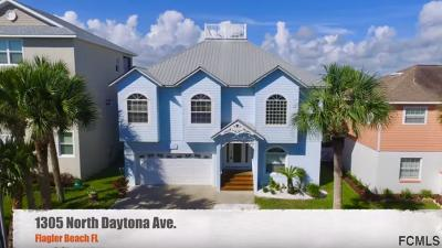 Flagler Beach Single Family Home For Sale: 1305 N Daytona Ave N