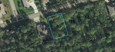 Seminole Woods Residential Lots & Land For Sale: 12 Sea Trail