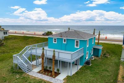 Flagler Beach Single Family Home For Sale: 1943 N Ocean Shore Blvd