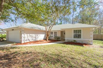 St Augustine Single Family Home For Sale: 1609 Bay Hawk Ln