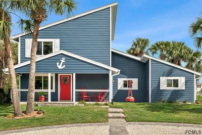 Flagler Beach Single Family Home For Sale: 1300 Daytona Ave N