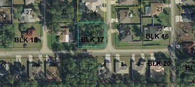 Indian Trails Residential Lots & Land For Sale: 1 Bruce Lane