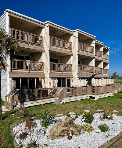 Ormond Beach Condo/Townhouse For Sale: 2450 Ocean Shore Blvd #8