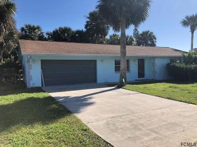 Flagler Beach FL Single Family Home For Sale: $289,000