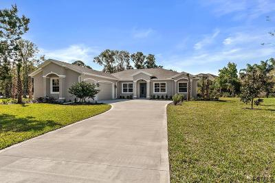 Palm Coast Single Family Home For Sale: 60 Riverbend Drive