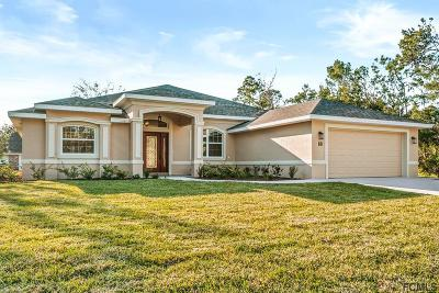 Palm Coast Single Family Home For Sale: 18 Fallwood Lane