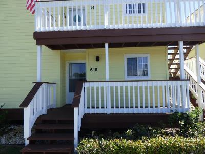 Flagler Beach Condo/Townhouse For Sale: 610 Ocean Marina Drive #610