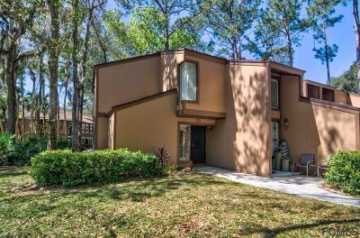 Palm Coast Condo/Townhouse For Sale: 29 Pine Hurst Pl #29