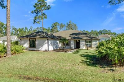 Palm Coast Single Family Home For Sale: 26 Reinhardt Ln