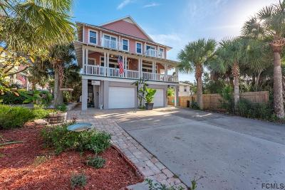 Flagler Beach Single Family Home For Sale: 203 S 6th St