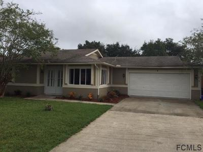 Palm Coast FL Single Family Home For Sale: $169,900