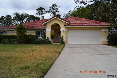 Palm Coast Single Family Home For Sale: 7 Vanderbilt Place