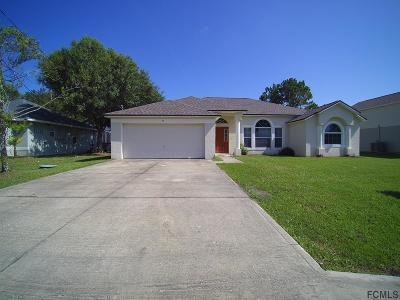 Palm Coast Single Family Home For Sale: 55 Burnell Dr