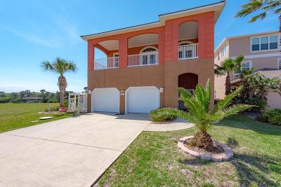 Flagler Beach Single Family Home For Sale: 3454 N Ocean Shore Blvd