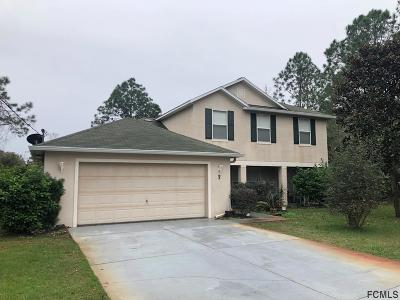 Palm Coast Single Family Home For Sale: 7 Wilden Pl