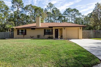 Palm Coast Single Family Home For Sale: 6 Kaiser Ct