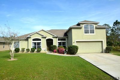 Palm Coast Single Family Home For Sale: 33 Russman Lane