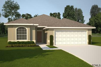 Palm Coast FL Single Family Home For Sale: $256,700