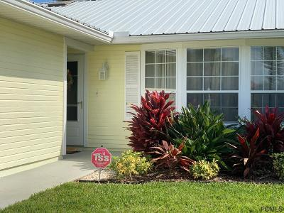 Palm Coast FL Single Family Home For Sale: $349,000