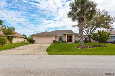 Palm Coast FL Single Family Home For Sale: $364,000
