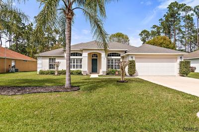 Palm Coast FL Single Family Home For Sale: $243,000