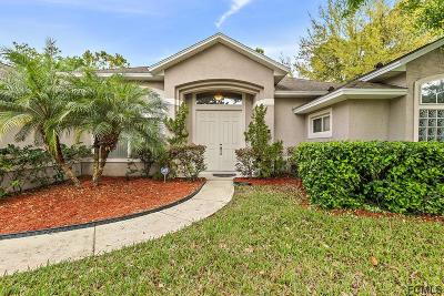 Palm Coast FL Single Family Home For Sale: $324,000