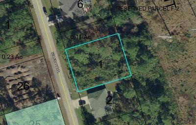 Seminole Woods Residential Lots & Land For Sale: 41 Sea Front Trail