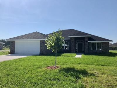 Flagler Beach FL Single Family Home For Sale: $277,200