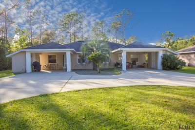 Palm Coast Multi Family Home For Sale: 9 Wheeler Place