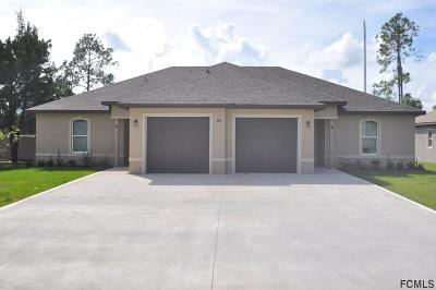 Palm Coast FL Multi Family Home For Sale: $339,900