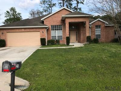 Palm Coast Single Family Home For Sale: 23 Beckner Ln