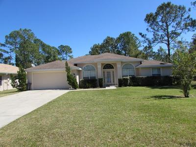 Palm Coast Single Family Home For Sale: 18 Riverdale Ln