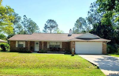 Palm Coast Single Family Home For Sale: 4 Ranshire Lane