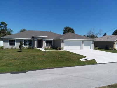 Palm Coast FL Single Family Home For Sale: $266,950