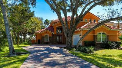 Palm Coast Plantation Single Family Home For Sale: 75 Riverwalk Dr S